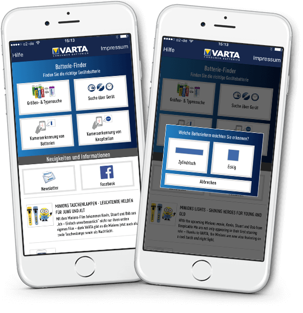VARTA Battery Finder Detailansicht