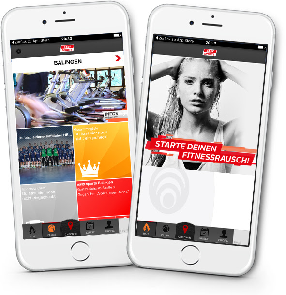 easySports Fitness-Booster Detailansicht